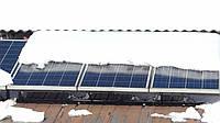 Чистим от снега солнечные батареи не царапая!