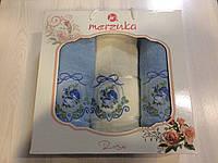 Набор махровых полотенец в подарочной упаковке (2*50х90+70х140, 100% хлопок)