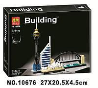 Конструктор Bela 10676 Architecture Сидней 361 деталей, фото 1