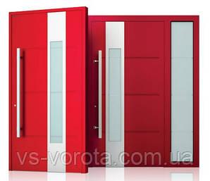 Двери алюминиевые входные WISNIOWSKI модель CREO 323 - размер 1200Х2300 мм