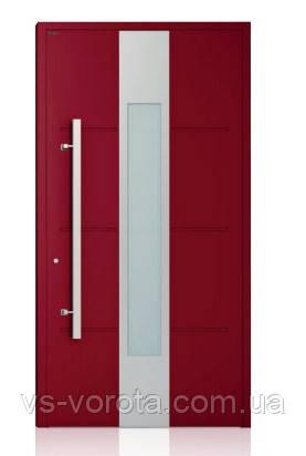 Двери алюминиевые входные WISNIOWSKI модель CREO 322 - размер 1200Х2300 мм