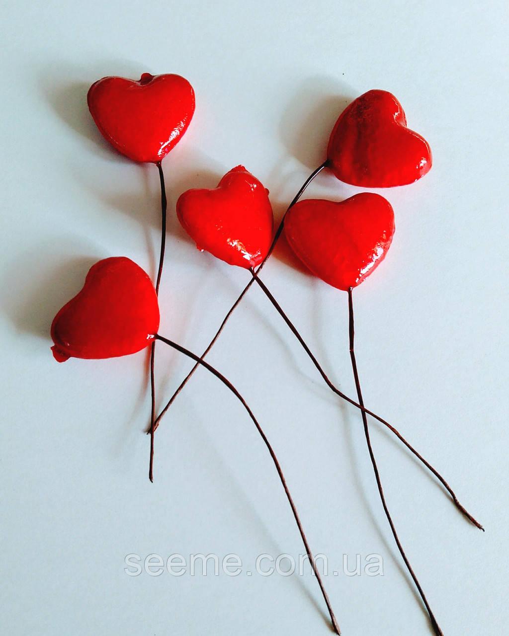 Комплект сердечек, 5 шт