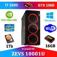 Ігровий Монстр ПК ZEVS PC10001U i7 2600 + GTX 1060 6GB
