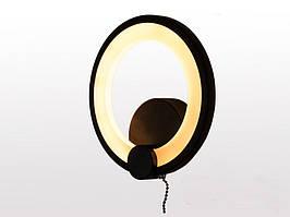 Настенный led-светильник Daisha 9 Вт 8022/1BK