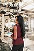 Женская блуза Бордовый, фото 2