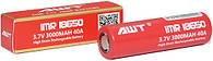 Аккумулятор для электронных сигарет 18650 AWT 3000мАч 3,7В 40А, фото 2