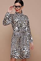 Платье леопард новинка,платья женские с открытой спиной ,платья макси длинные ,