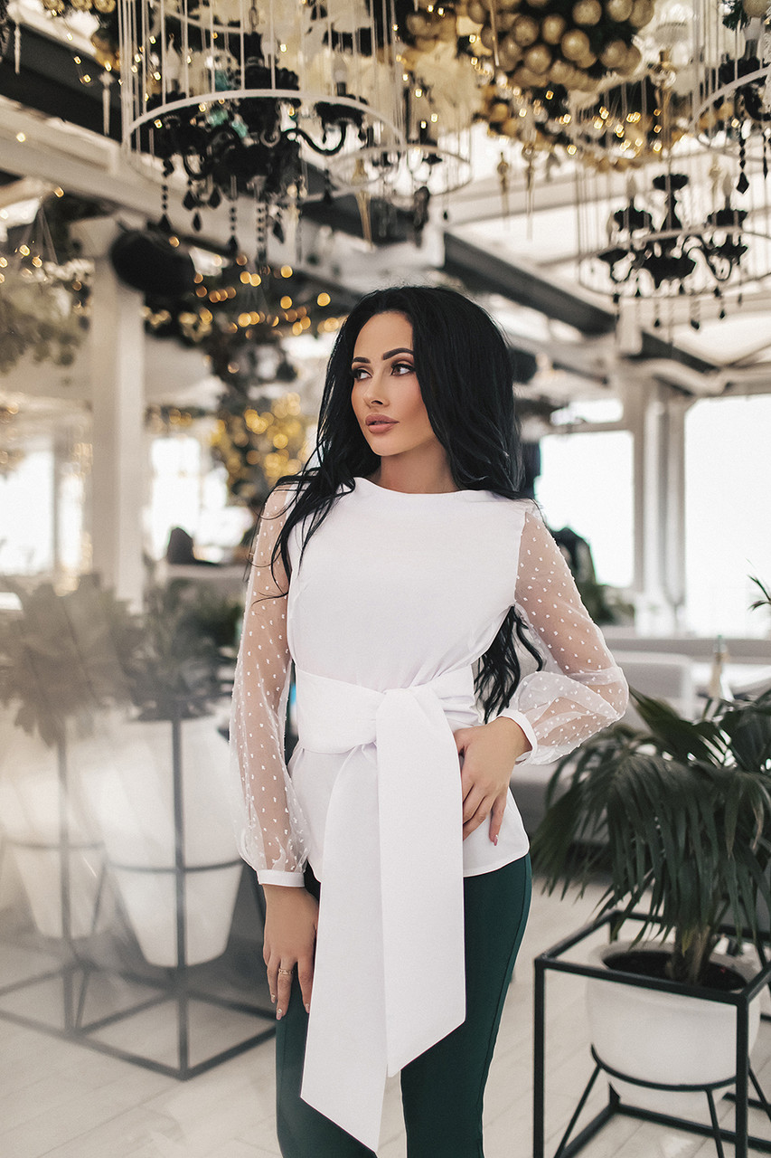 Женская блуза Белый