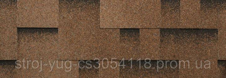Гибкая битумная черепица Katepal ROCKY, дюна