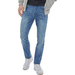 Мужские джинсы зауженные DFND London синие оригинал JE0002/02