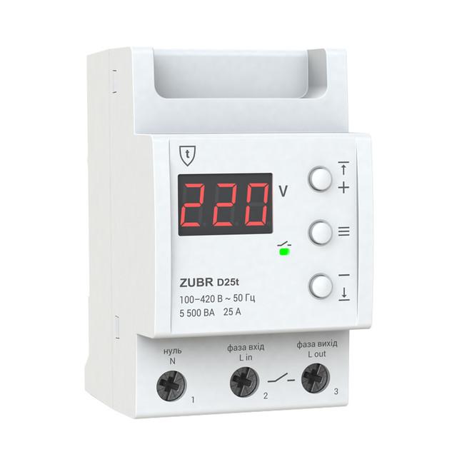 Реле контроля напряжения ZUBR на весь дом