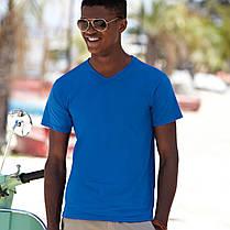 Мужская футболка с V-образным вырезом 61-066-0, фото 2