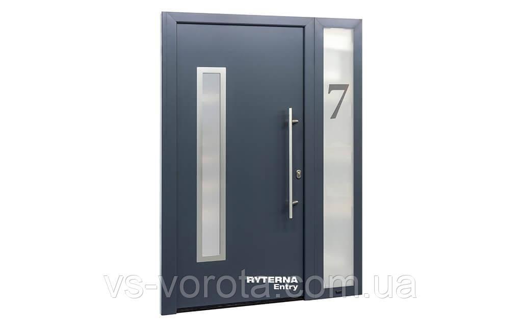 Входные уличные двери для дома Ryterna RD65 (Литва) - Дизайн 112
