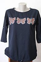 Коттоновая кофточка бабочки