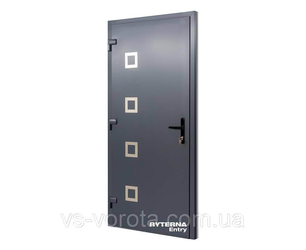 Входные уличные двери для дома Ryterna RD65 (Литва) - Дизайн 106