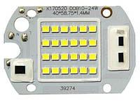 Светодиодная матрица 220В 30Вт SMD 3528 Холодный свет