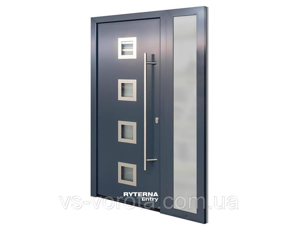 Входные уличные двери для дома Ryterna RD65 (Литва) - Дизайн 114
