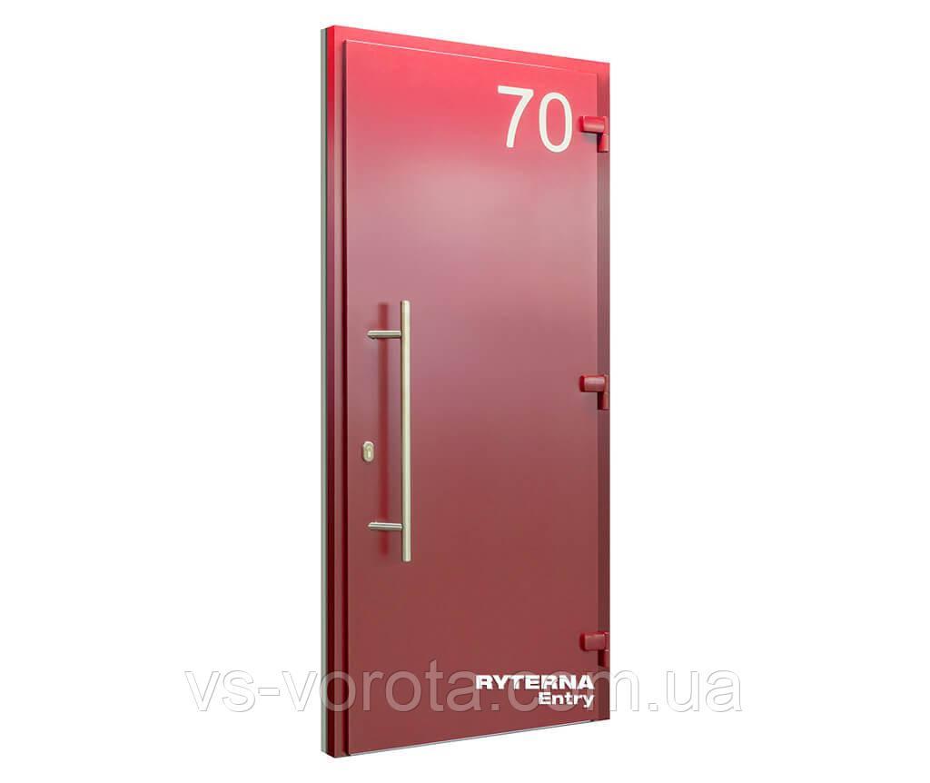 Входные уличные двери для дома Ryterna RD65 (Литва) - Дизайн 104