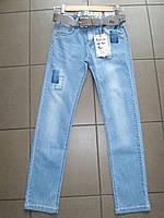 Летние,тонкие, светлые  джинсы для мальчиков подростков,размер 134-164 см.Фирма GRACE.Венгрия, фото 1
