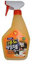 Универсальное жидкое чистящее средство для дома с апельсиновым маслом 600 мл (582019)