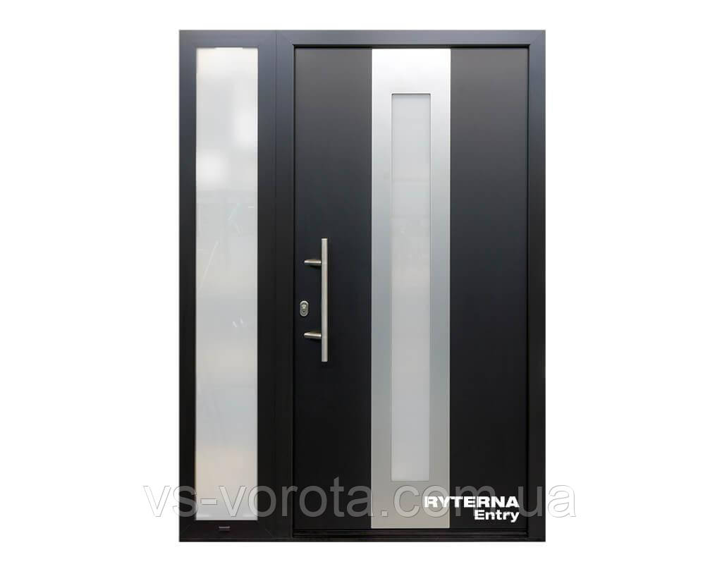 Входные уличные двери для дома Ryterna RD65 (Литва) - Дизайн 109