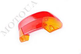 Скло стоп-сигналу і поворотів HONDA DIO AF-27/28 (червоне+жовте) KOMATCU