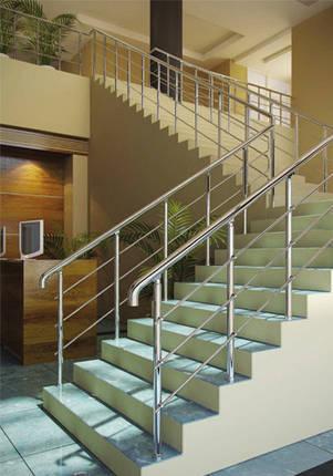 Алюминиевые перила для лестниц, фото 2