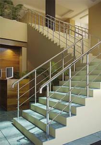 Алюминиевые перила для лестниц
