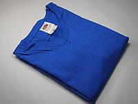 Мужская футболка с V-образным вырезом 61-066-0 Ярко-синий, L
