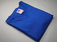 Мужская футболка с V-образным вырезом 61-066-0 Ярко-синий, 3XL