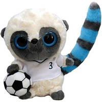 Мягкая игрушка Aurora Yoohoo Лемур Футболист 12 см (91303Q)