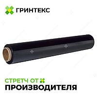 Стрейч пленка черная 20 мкм., 500 мм. , 200 м. от одного ящика (6 шт. )