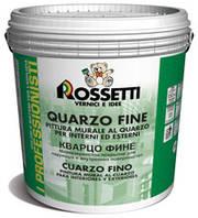 Краска на водной основе для интерьера и фасада с содержанием кварца очень мелкого помола QUARZO FINO 1 л