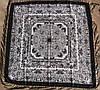 Платок шерстяной павлопосадский (120см) 607020, фото 2