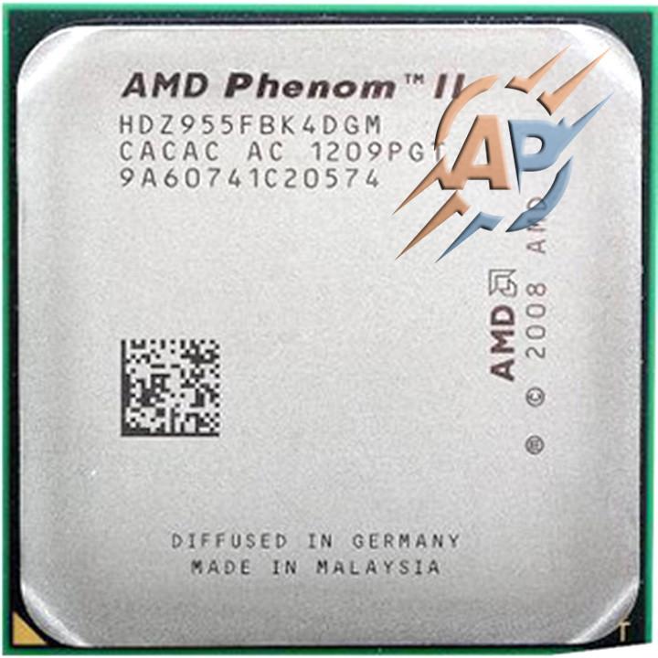 Процессор AMD Phenom II X4 955 3.2GHz/6MB/2000MHz (HDZ955FBK4DGM) Socket AM3 125W