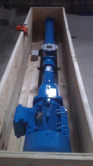 Новый насос Johstadt Pump (Германия) прибыл на склад.
