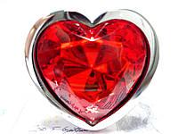 Анальная пробка Like Heart Love   + черный бархатный мешочек, фото 1