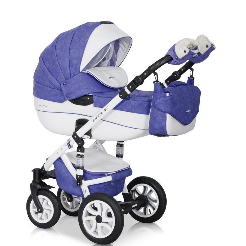 Детская универсальная коляска 2 в 1 Riko Brano Ecco 19 Lila