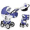 Детская универсальная коляска 2 в 1 Riko Brano Ecco 19 Lila, фото 5