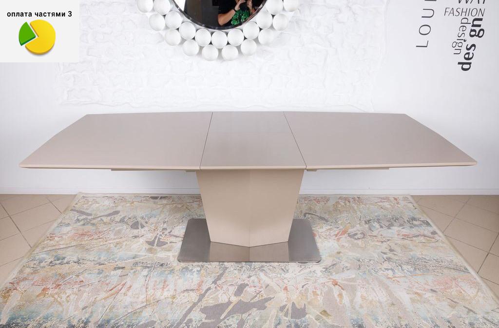Michigan (Мичиган) стол раскладной 180-230 см керамика мокко