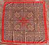 Платок шерстяной павлопосадский (120см) 607019, фото 2