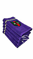 Махровое полотенце Gucci 50*90 фиолетовое