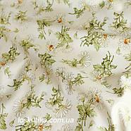 44013 Ромашка. Ткань квилтинговая. 100 % хлопок. Ткани для рукоделия, шитья, пэчворка и декорирования., фото 2