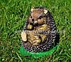 Садовая фигура Гриб лисичка, Синичка грибочек и Ежик на поляне, фото 5