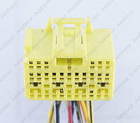 Разъем электрический 28-и контактный (30-19) б/у 11872