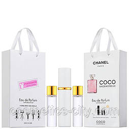Мини-парфюм женский Chanel Coco Mademoiselle, 3х15 мл