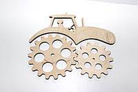 Заготовка для бизиборда Трактор №2