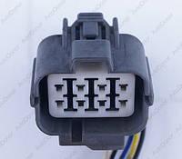 Разъем электрический 8-и контактный (34-34) б/у