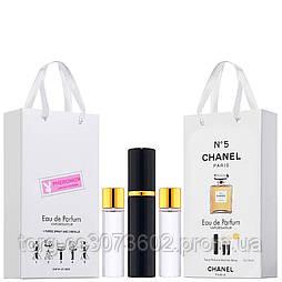 Мини-парфюм женский Chanel №5, 3х15 мл