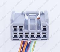 Разъем электрический 9-и контактный (27-15) б/у 11535
